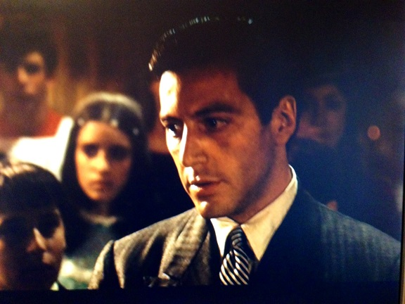 The Godfather - Al Pacino at baptism