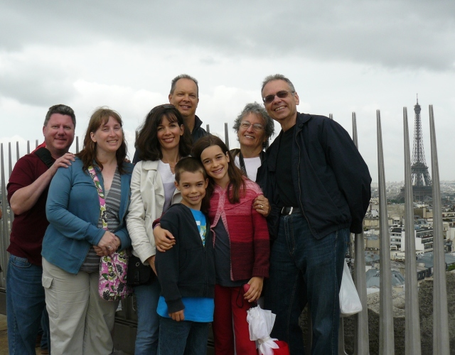 Paris - family - June 2013 - Arc de Triumphe